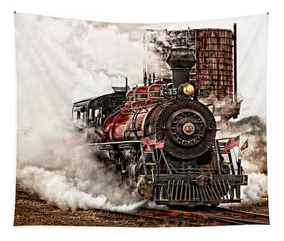 All Steamed Up Tapestry