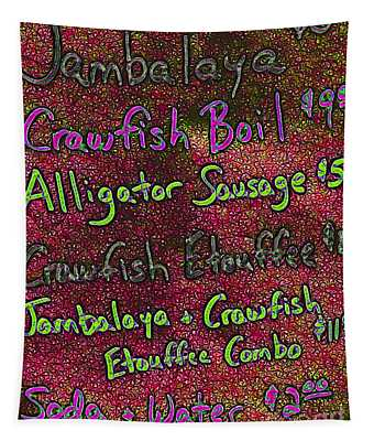 Alligator Sausage For Two Dollars 20130610p68 Tapestry