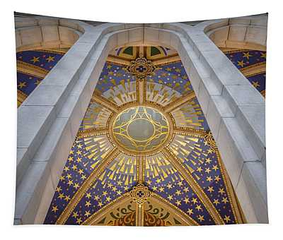 Almudena Cathedral Interior Tapestry