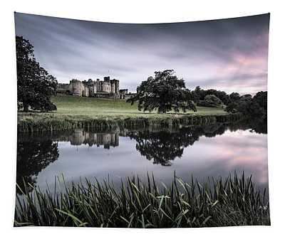 Alnwick Castle Sunset Tapestry
