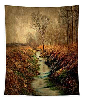 Along The Canal Tapestry