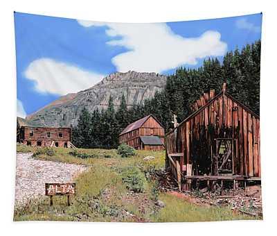 Alta In Colorado Tapestry
