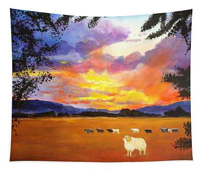 Alvin Counting Sheep Tapestry