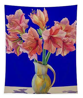 Amaryllis In A Jug Tapestry