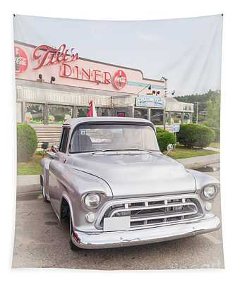 American Classics Tilton Diner Classic Pickup Truck Tapestry