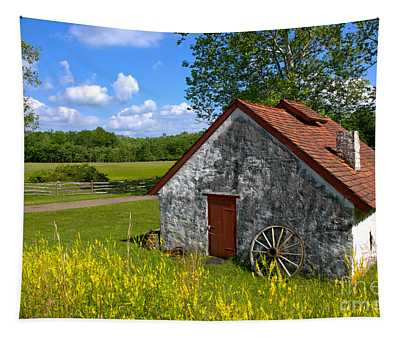 American Country Farmhouse Tapestry