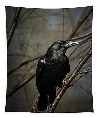 American Crow Tapestry
