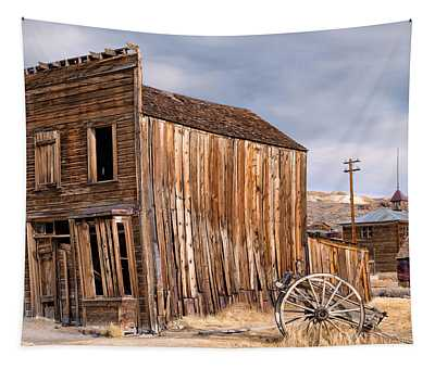 American Ghost Town Bodie Tapestry