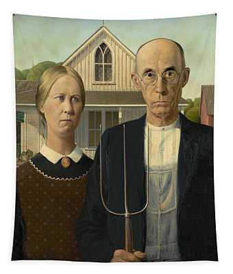 American Gothic Tapestry