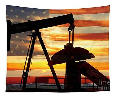 American Oil  Tapestry