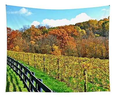 Amish Vinyard Two Tapestry