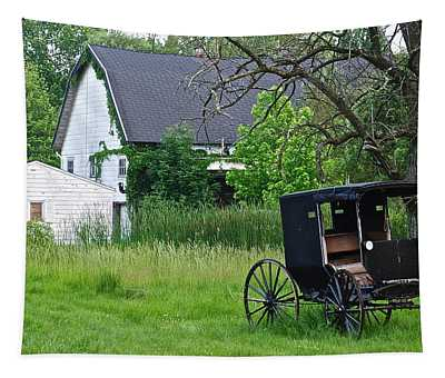 Amish Way Of Life Tapestry