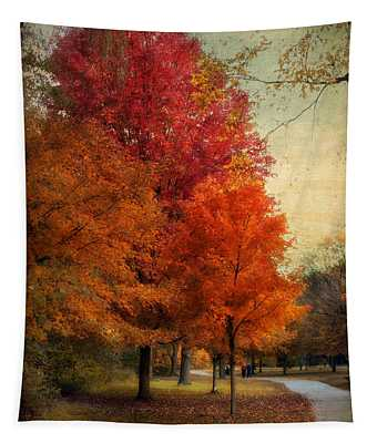 Among The Maples Tapestry