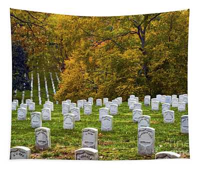 An Autumn Day In Arlington Tapestry