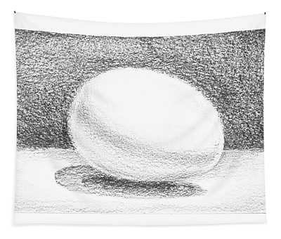 An Egg Study One Tapestry
