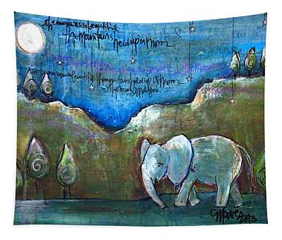 An Elephant For You Tapestry