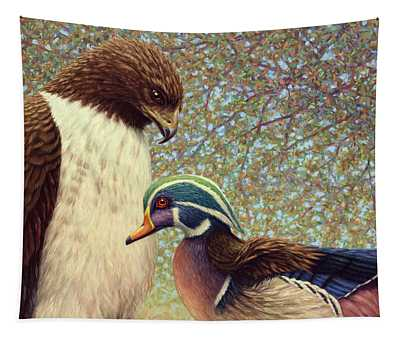 An Odd Couple Tapestry