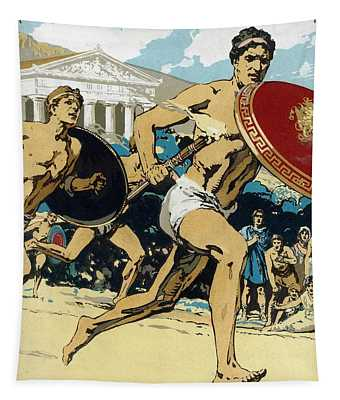 Ancient Olympic Games  The Relay Race Tapestry