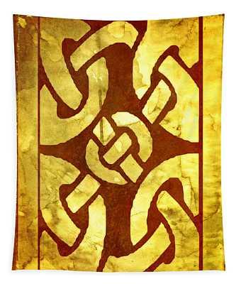 Ancient Ornamental Celtic Design Tapestry