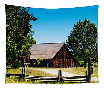 Anderson Valley Barn Tapestry