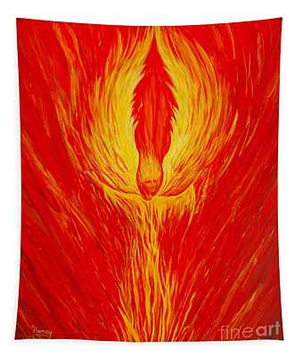 Angel Fire Tapestry
