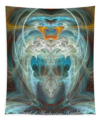 Angel Of Awakening Kundalini Tapestry