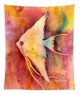 Angelfish II Tapestry