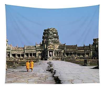 Angkor Wat Cambodia Tapestry