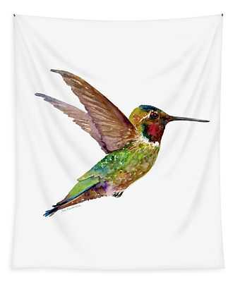 Anna Hummingbird Tapestry