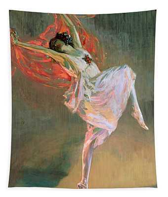 Anna Pavlova, 1910 Tapestry