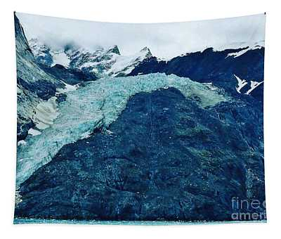 Another Shot Of Reid Glacier Tapestry