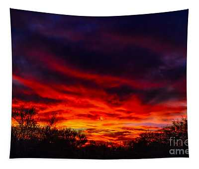 Another Tucson Sunset Tapestry