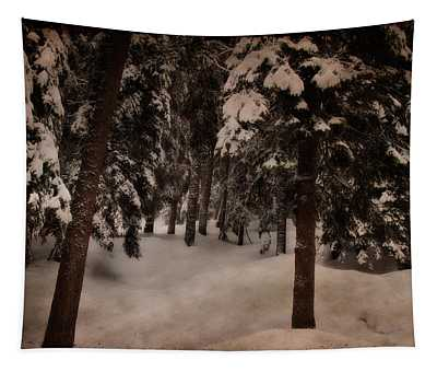 Antique Woodscape Tapestry