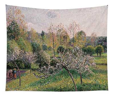 Apple Trees In Blossom Tapestry