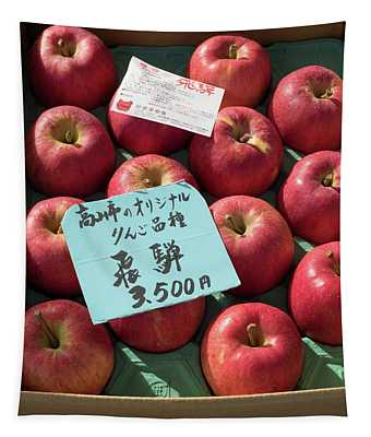 Apples For Sale At Farmers Market Tapestry