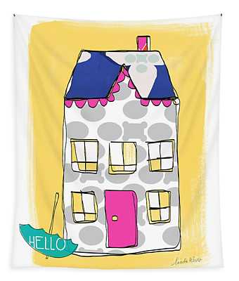 April Showers House Tapestry