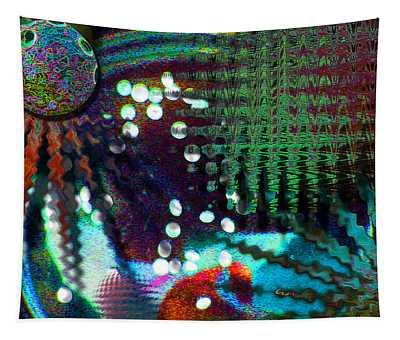 Aqua Dish Tapestry