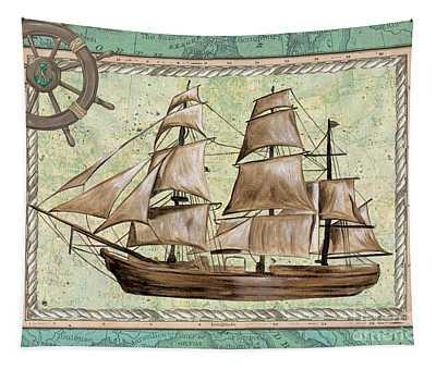 Aqua Maritime 1 Tapestry