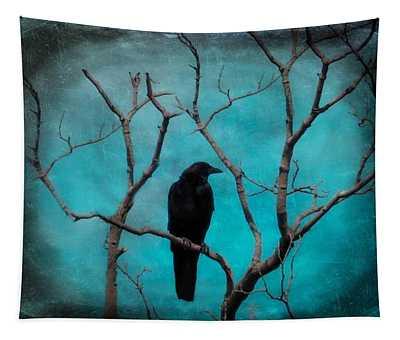Aqua Twilight Tapestry