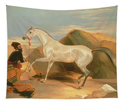 Arab Stallion Tapestry