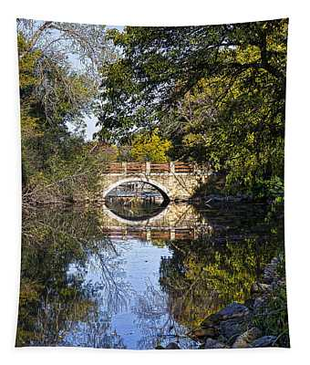 Arboretum Drive Bridge - Madison - Wisconsin Tapestry