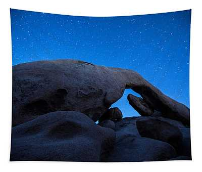 Arch Rock Starry Night 2 Tapestry