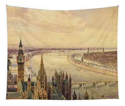 Architectural Panorama Of A Proposed Tapestry