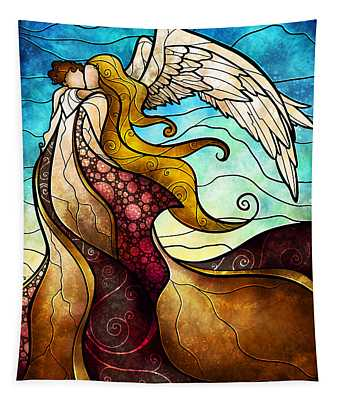 Arms Of The Angel Tapestry