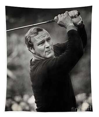 Arnold Palmer Pro-am Golf Photo Pebble Beach Monterey Calif. Circa 1960 Tapestry