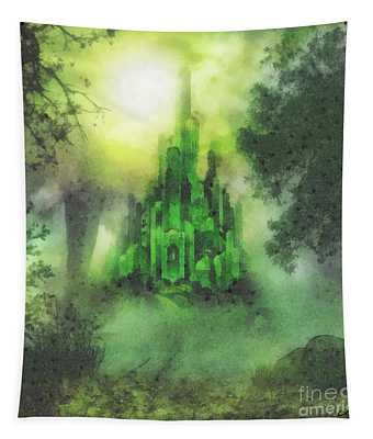 Arrival To Oz Tapestry