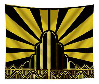 Art Deco Poster - Two Tapestry