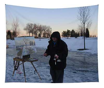 Artist At Work Lake Shore Mississauga On Tapestry