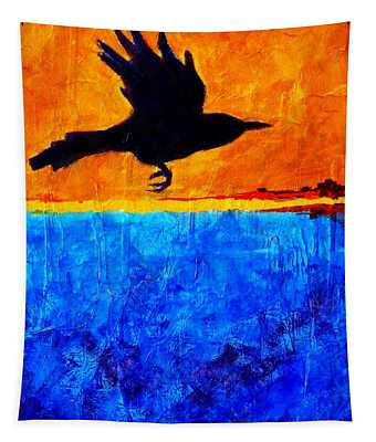 As The Crow Flies Tapestry