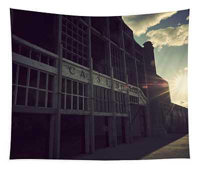 Asbury Park Nj Casino Vintage Tapestry